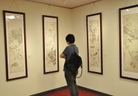 """""""视觉中国•洲际行–王根生工笔画展""""在东京开幕"""