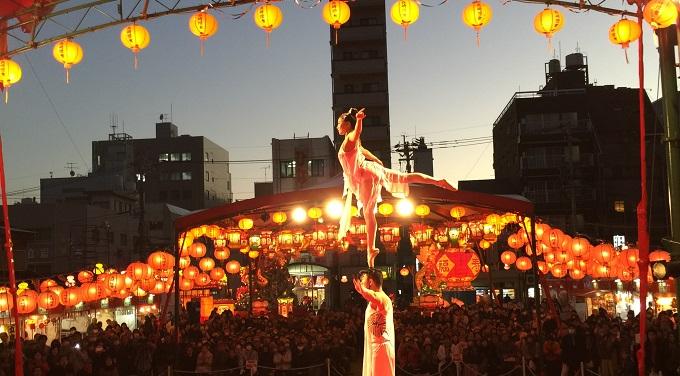 長崎ランタンフェスティバルにて