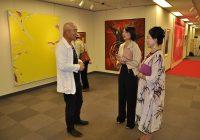 国际女画家协会世界巡回展首站在东京开幕