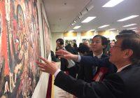 北京法海寺明清仏画珍品展にて貴重な壁画復元作品を展示