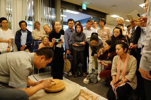 「龍泉青磁の歴史と伝承」講座が文化センターにて開催