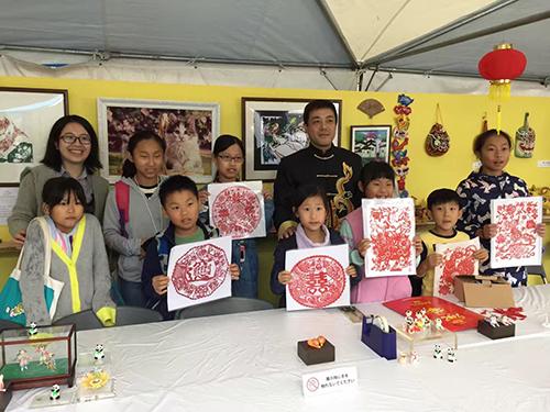 中国民間工芸が「チャイナフェスティバル」に登場