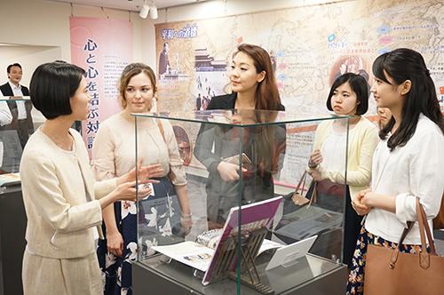 「友誼の道~池田大作と中国~」展を開催