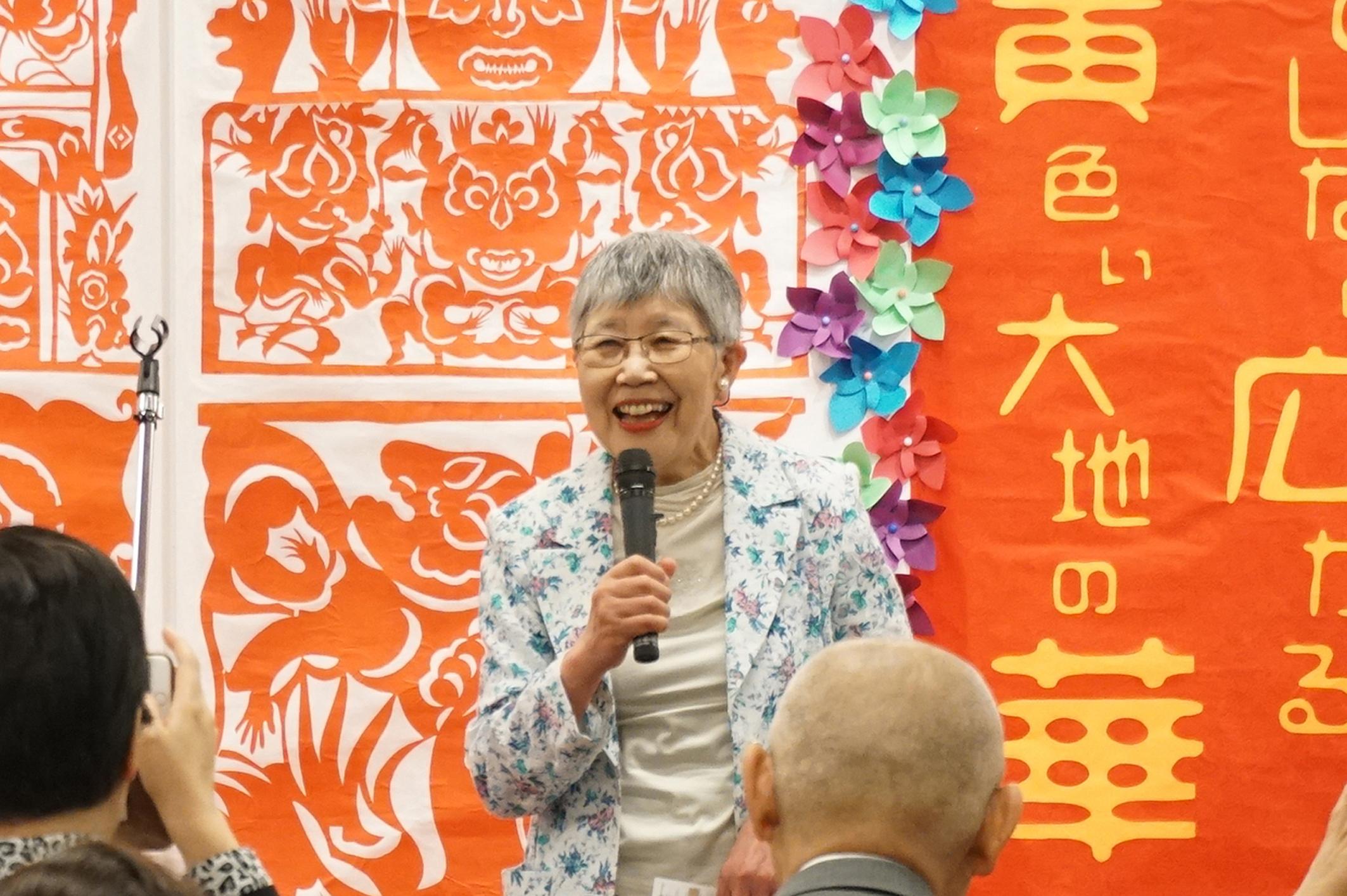"""""""陕北剪纸–无垠黄土地之华""""展在东京开幕"""