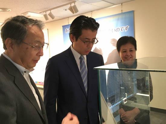 日本各界の著名人がセンターのイベントを鑑賞