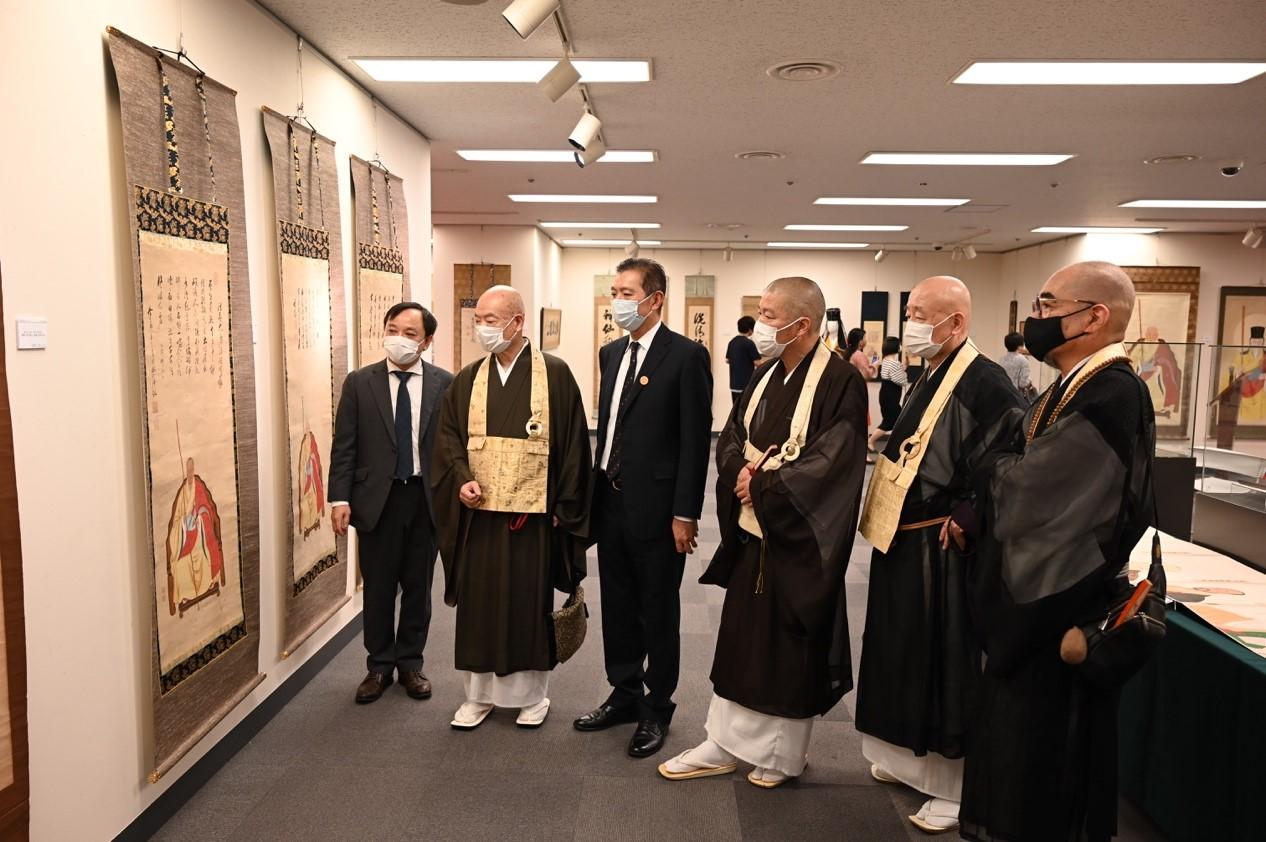 中日交流物語る黄檗文化展、開幕