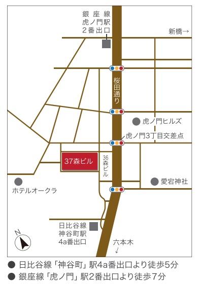 中国文化センター 地図