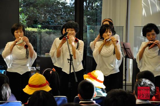日本雷欧世界音乐中心陶笛爱好者表演