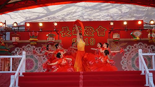 長崎春節ランタンフェスティバルに江西省芸術団が登場