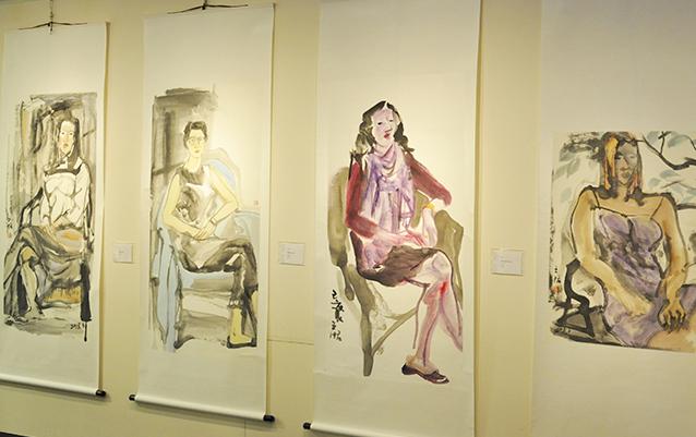 「墨・鑑 現代の水墨芸術四人展」を開催