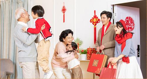 春節のおはなし2「歓慶新春——一家団欒で福永く」